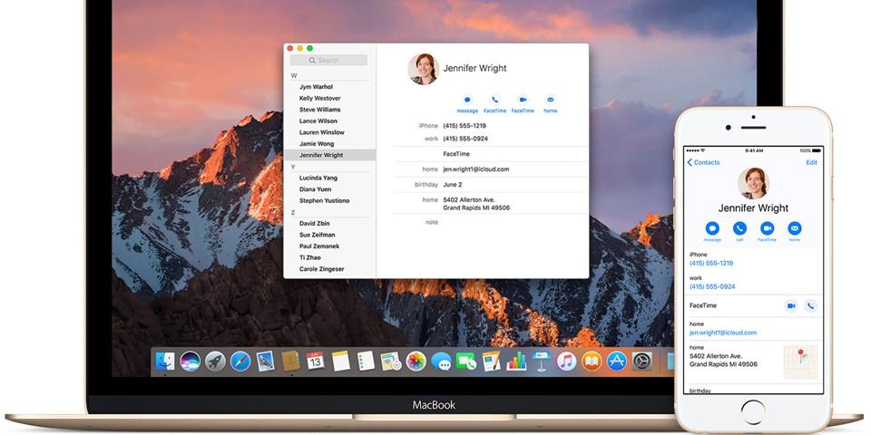 Tính năng cập nhật danh bạ lên iCloud là gì?