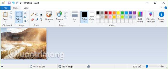Nhấn Ctrl+S để lưu lại ảnh chụp màn hình