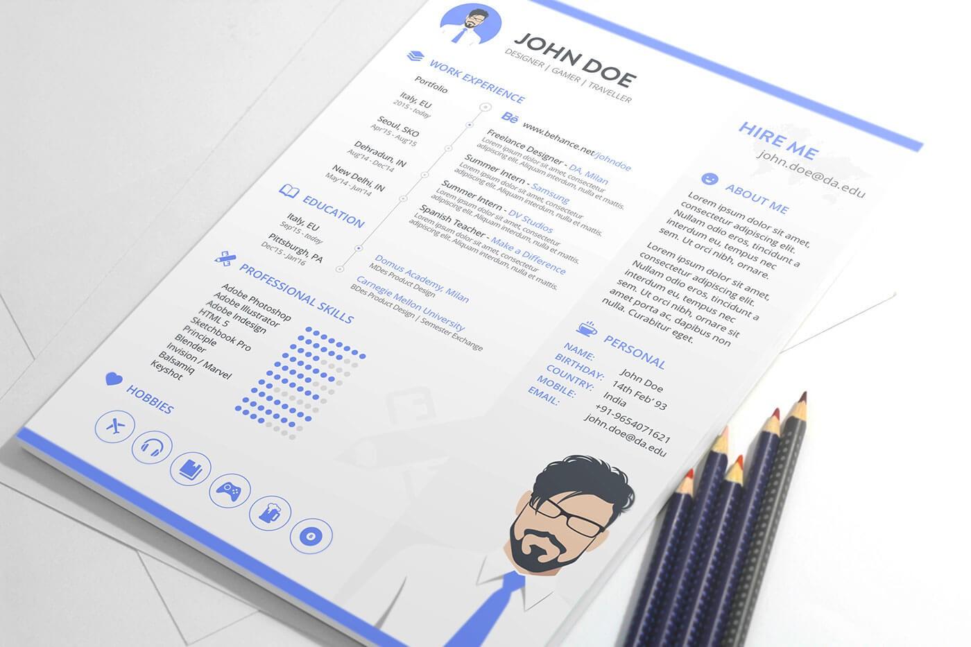 Tổng hợp các mẫu CV tiếng anh đơn giản và đẹp nhất 2020