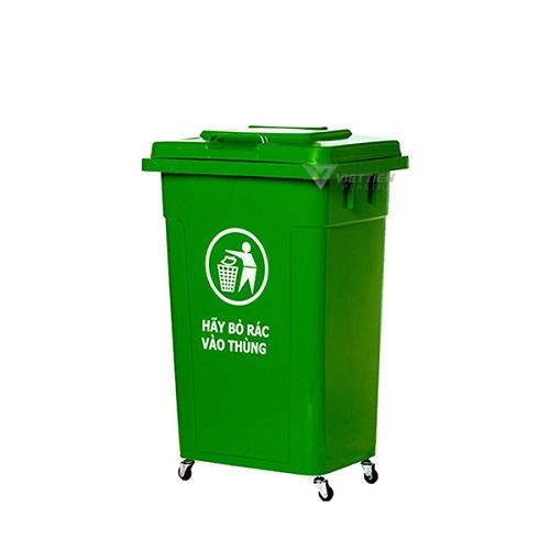 Thùng đựng rác 90 lít có bánh xe