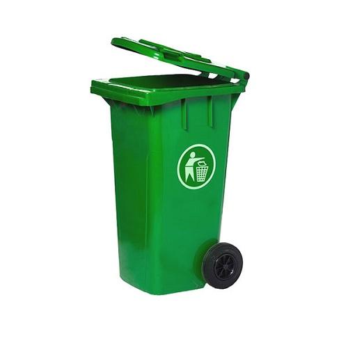 Thùng rác có nắp 120 lít