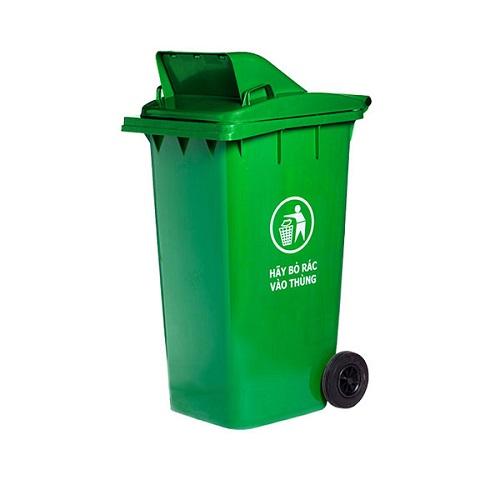 Thùng đựng rác có nắp 240 lít