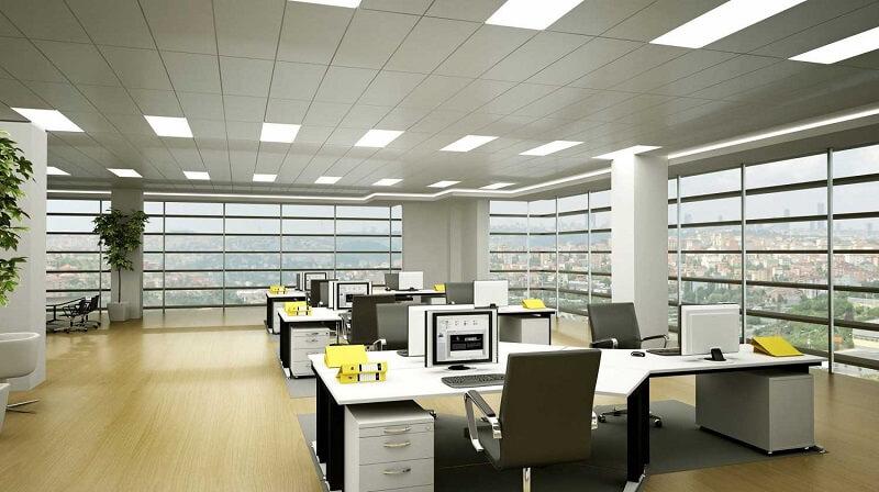 Thiết kế không gian của bàn làm việc đi đúng theo quy luật phong thủy