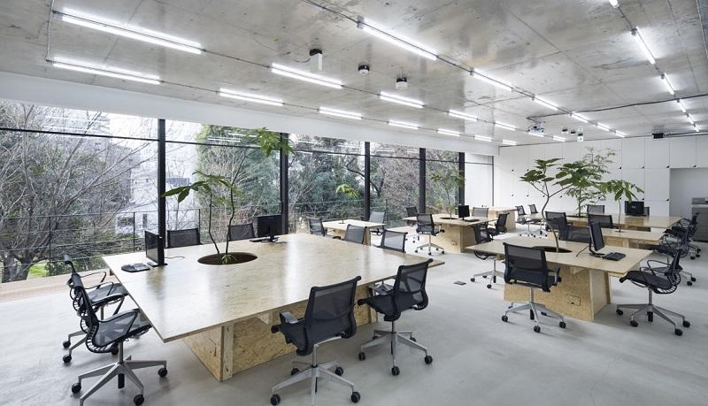 Không gian văn phòng đẹp