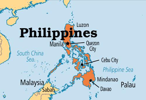 Một số thành phố lớn tại Philippines