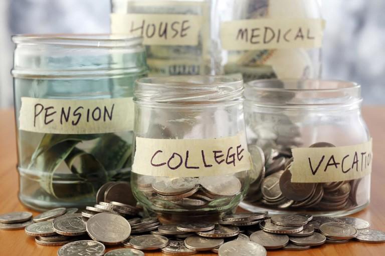 Hãy tự lập ra cho mình các khoản tiết kiệm khác nhau