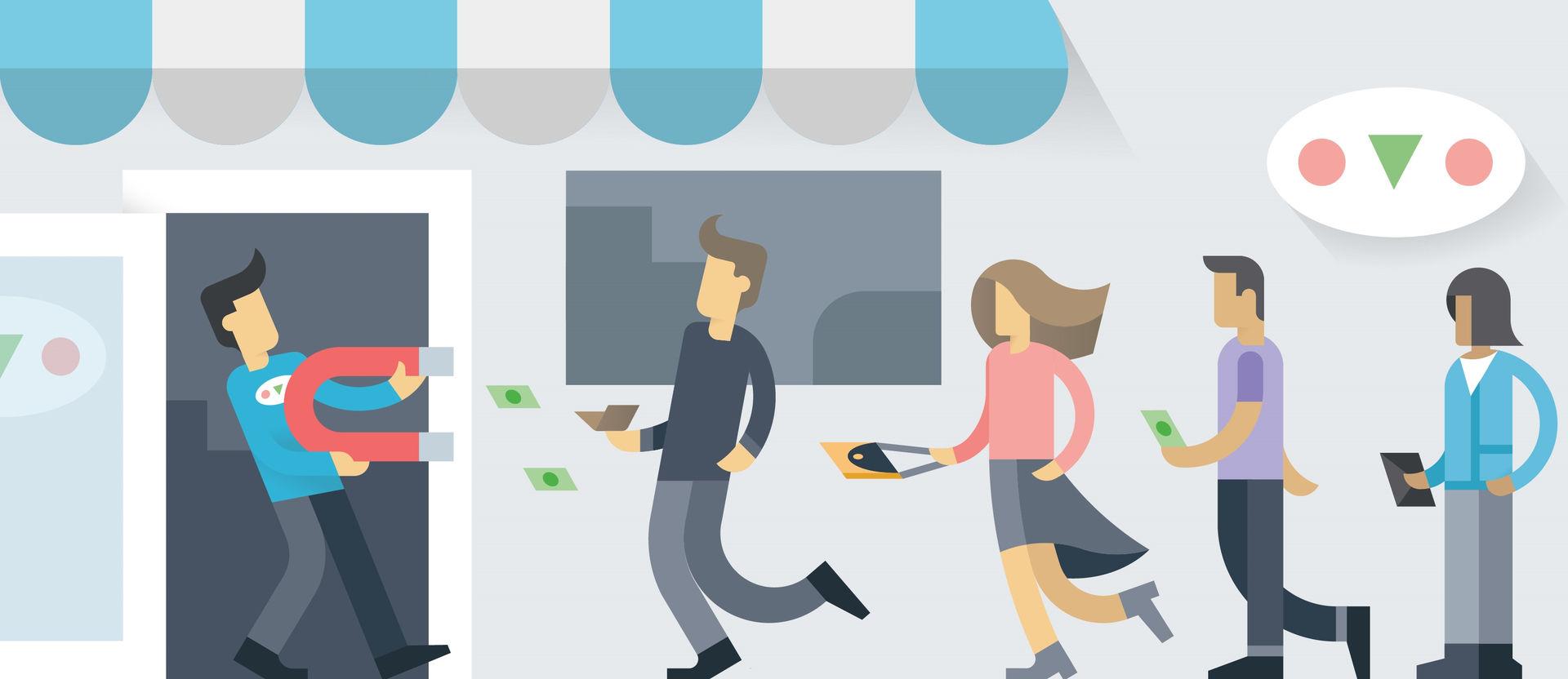 Cách thu hút khách hàng hiệu quả cho doanh nghiệp nhỏ - Cung cấp giải pháp  hỗ trợ kinh doanh online hiệu quả, tiết kiệm chi phí tối đa